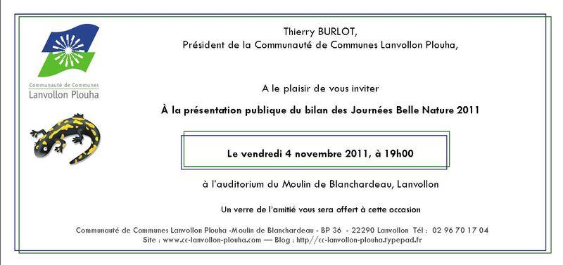 Invitation-bilan JBN 2011