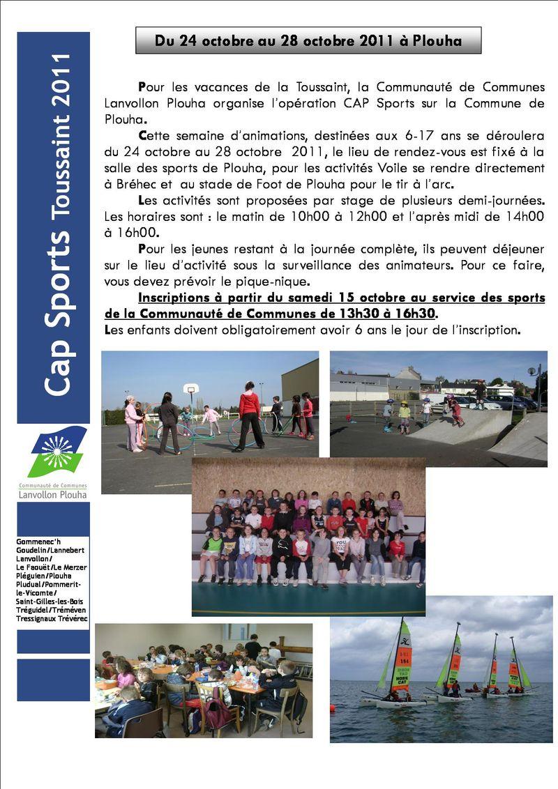 01 Programme toussaint 2011