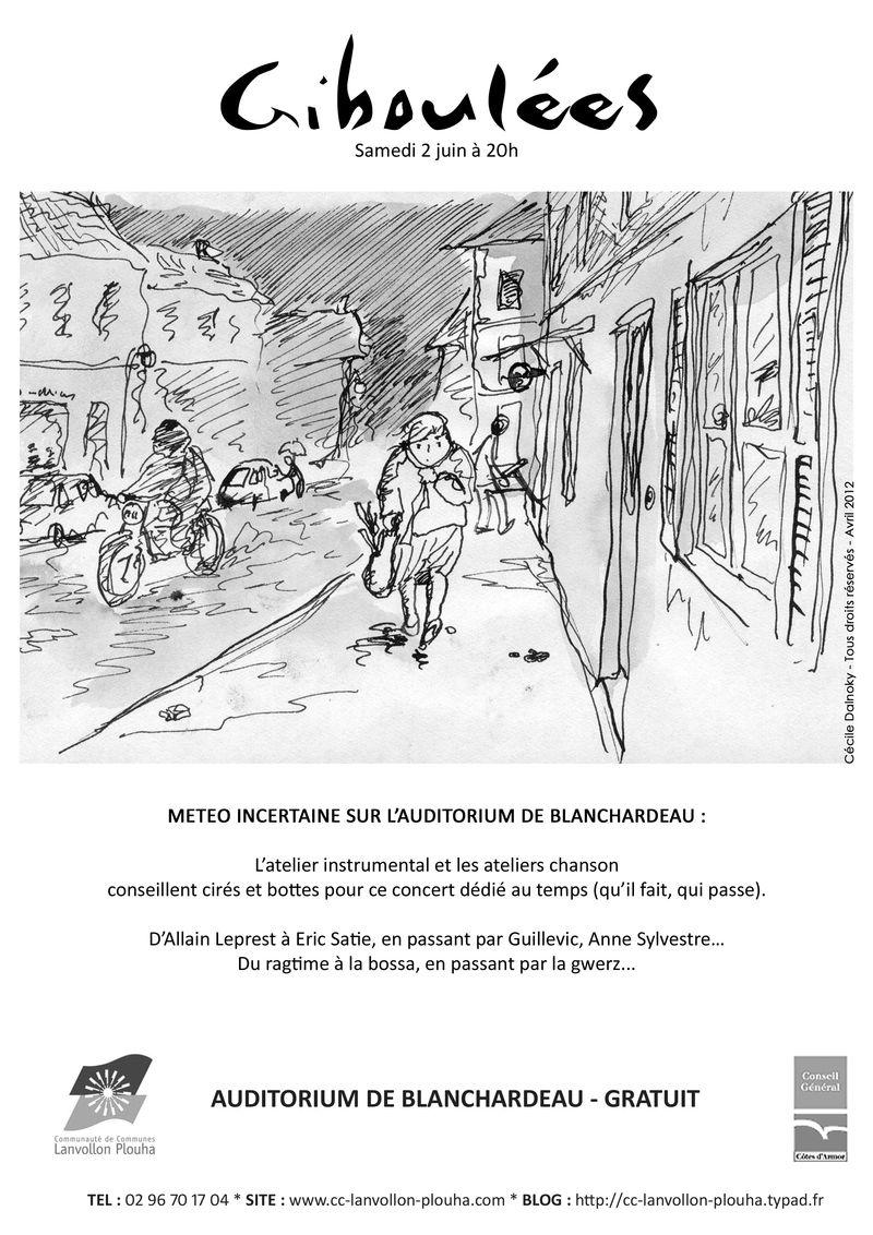 Affichette Manu 2012